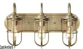 Industrial Bathroom Light Fixtures Industrial Bathroom Lights 4 Light Vanity Fixture Industrial