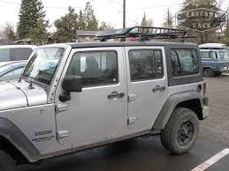 cargo rack for jeep wrangler cascade rack custom base rack cargo basket installation 2014