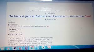 Mechanic Job Description Resume by Mechanical Jobs At Delhi Noida Gurgaon Youtube