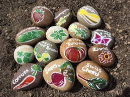 Painting Rocks For Garden Diy Painted Rock Garden Markers Rockville Diaries
