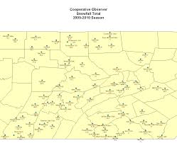 Rockford Zip Code Map by Normal Snowfall In Central Pa
