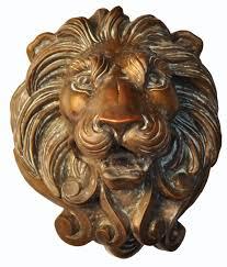 lion heads for sale 9020 cast lion bronze 1 spitter lighting adg lighting