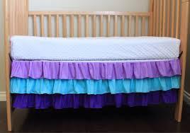 ruffled crib skirt best baby crib inspiration