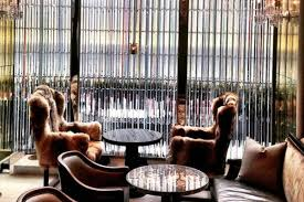 baccarat hotel u0027s grand salon trashes its coyote fur chairs after