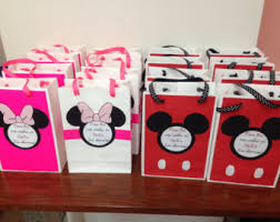 mickey mouse favor bags mickey mouse favor basket boxes handcrafted from wood minnie