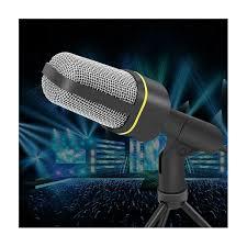 Microphone Bureau - yanmai sf 920 3 5mm mini microphone de bureau avec trépied noir