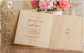 cheap wedding invitations online gold lasercut gatefold wedding invitation with bi fold insert