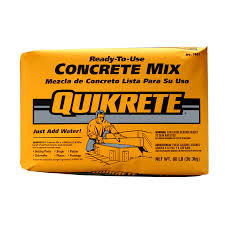 Roofing Calculator Lowes by Shop Quikrete 80 Lb Gray High Strength Concrete Mix At Lowes Com