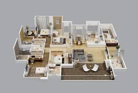 4 bhk floor plan 3d descargas mundiales com