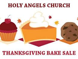 nov 18 thanksgiving bake sale holy church barrington