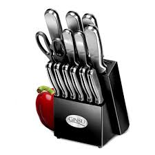 Ginsu Kitchen Knives Ginsu 14 Stainless Sted Cutlery Set Walmart