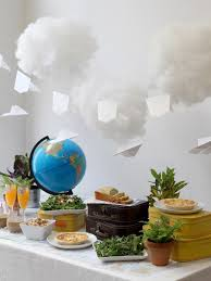 travel themed baby shower how to plan a travel themed baby shower hgtv