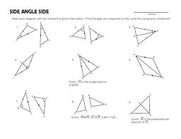 finding missing angles in triangles worksheet 23 best congruent triangles images on triangle