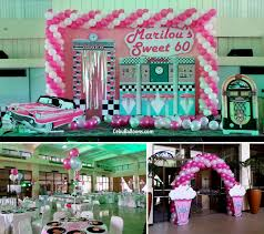 60th birthday decorations party theme ideas for a 60th birthday decorating of party