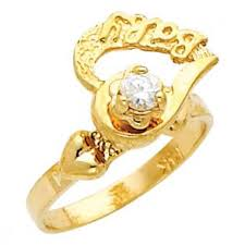 baby rings images 14k gold baby rings david 39 s gold shop kids jewelry jpg