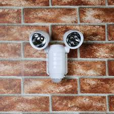 battery powered security light outdoor battery operated security light with pir sensor