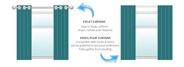 how to hang pencil pleat curtains with hooks curtain length rule of thumb decorate the house with beautiful