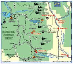 buena vista snowmobile trails map snowmobile trail maps