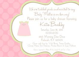 invitation greeting baby shower girl invitation wording theruntime