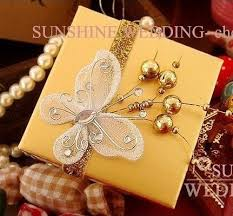 Wedding Gift Decoration Aliexpress Com Buy Elegant Wedding Candy Boxes With Ribbon And