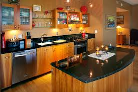 one wall kitchen with island create a display kitchen with one