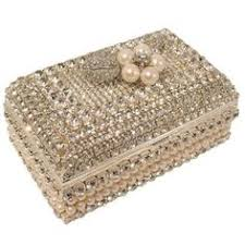 pearl necklace boxes images Jewelry box metal filigree velvet lined pinterest filigree jpg