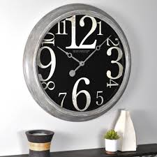 firstime wall clocks wall decor the home depot