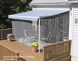 Aluminum Awning Kits Screen Porch Kits Install On Awnings To Make A Porch Enclosure
