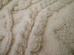 cable knit christmas handknit holidays aran tree skirt s