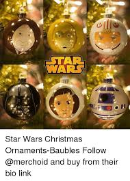 Star Wars Christmas Meme - star wars star wars christmas ornaments baubles follow and buy from