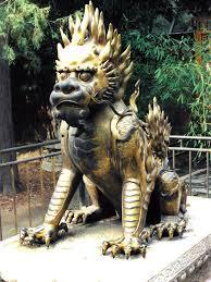 qilin statue beijing