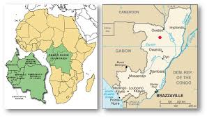 Gabon Map A 1 Background Congo Oubreak Investigation