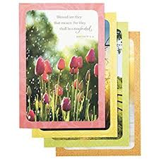 sympathy inspirational boxed cards painting