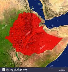 Map Of Ethiopia Map Satellite Geography Ethiopia Stock Photos U0026 Map Satellite