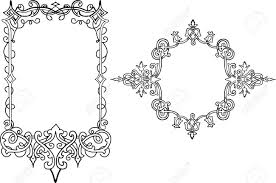 Designs Classic Design Frame Royalty Free Cliparts Vectors And Stock