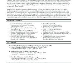 manager resume word construction project manager resume template word n project