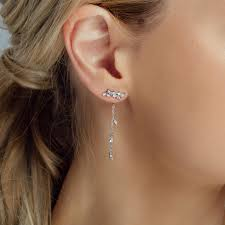 two way earrings two way earrings nunu jewellery