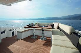 azimut 55 yacht exterior deck seatech marine products daily