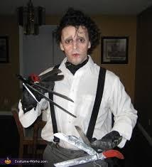 edward scissorhands costume coolest diy edward scissorhands costume