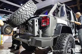 jeep silver 2016 2016 sema lund silver jeep jk wrangler unlimited