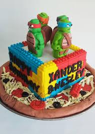 tmnt cake my sweet fancy cakes tmnt lego cake