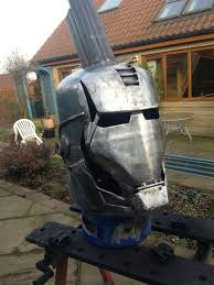 iron man war machine log burner mightymega