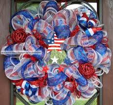 Fourth Of July Door Decorations Patriotic Wreaths And Decorations Trendy Tree Blog Holiday