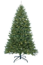 7 pre lit frosted mountain pine artificial tree clear
