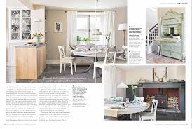 ideal home issue july 2016 woodwork painted in pure original traditional waterbased paint in the colour white table top is painted with