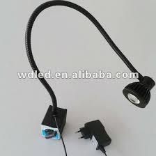 led gooseneck machine light 1w 110v 220v led gooseneck flexible arm work light in industrial