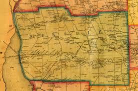 Hancock Ny Map 1853 Cayuga County Ny Map