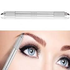 professional airbrush makeup machine pinkiou two 3d eyebrow manual pen permanent makeup machine