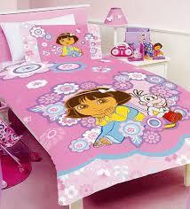 Dora Comforter Set Dora The Explorer Bedding Quilt U0026 Duvet Covers For Kids