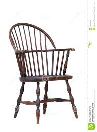 Vintage Wood Chairs Antique Windsor Chair Isolated Royalty Free Stock Photos Image